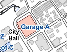 Garage A - Garage A is multi-level parking facility located on Fountain Circle with the entrance on Gates.No Cost - provided to the runners by the City of Huntsville