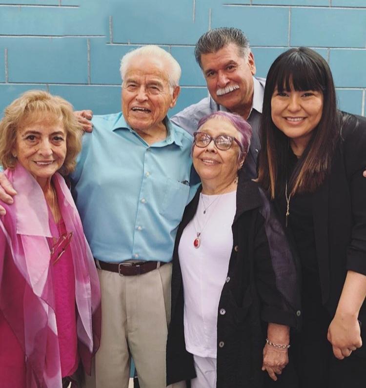Alicia Contreras Ramirez, Gene Cabral, Carol Jacques, George Martinez and Priscilla Leiva, 2018
