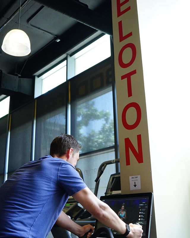Have you hit the Peloton yet? Gives you the feeling of a class at literally any. time. of. day. #bodyfitsd #littleitalysd #privategym
