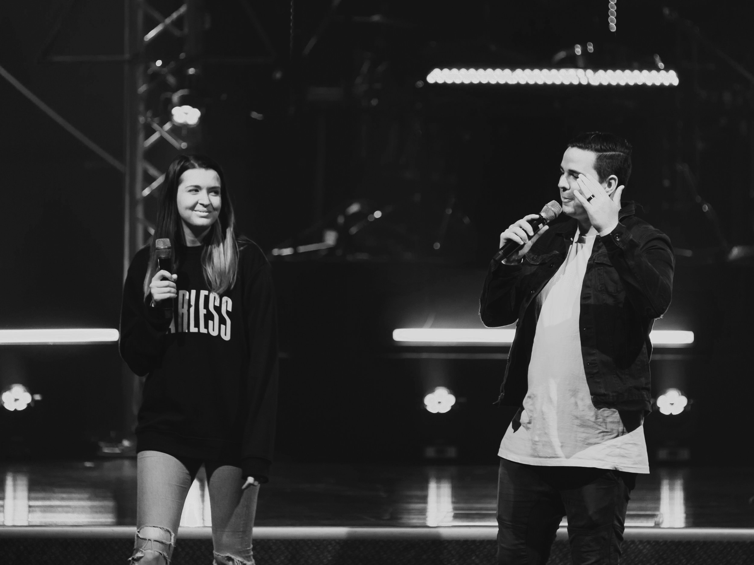 STEVEN & ASHLEE LAWRANCE - — YOUR HOSTSAlone we can do so little, together we can do so much! Awaken Conference is an opportunity for teenagers all across Queensland to come together under one name, Jesus Christ, and be empowered to live the life that God has called us to live! The hope of this conference is that you would have an 'Awaken Moment'; that you would walk away knowing how incredible God's plans are for you. As well as that, Awaken is always a great place to hang with friends and have an awesome time. Whether you are a follower of Jesus or not, Awaken Conference is for you!