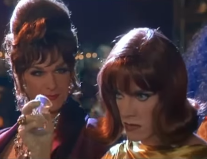 Coco with Patrick Swayze in To Wong Foo, Thanks for Everything! Julie Newmar.