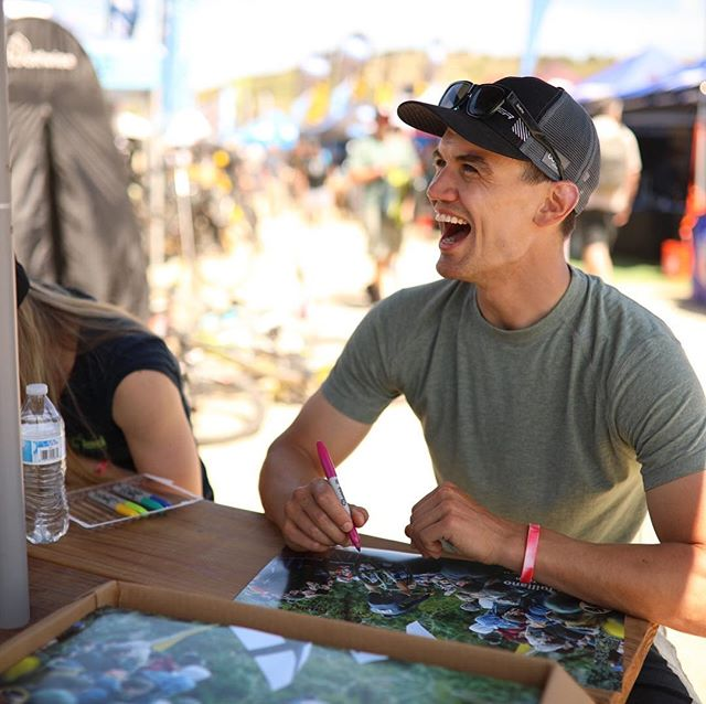 30 year old grom stoke vs. 11 year old grom stoke  Day 3 at the @seaotterclassic had a whole lot of all of it  Great poster signing with @volerapparel and great shots from @avery_stumm