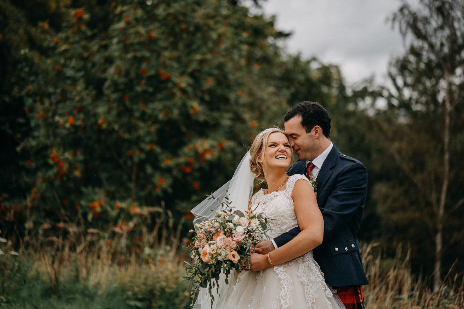 Real Scottish Weddings - In a world of complexity, I like to keep things simple. I get excited about creating real, honest wedding photography that reflects you and your partner without lots of awkward posing. My natural and relaxed storytelling style allows me to unobtrusively capture all the best bits whilst you enjoy your day. I love photographing the best wedding spots Scotland has to offer and a key feature to my approach is that we have a lot of fun!Read more about my style…
