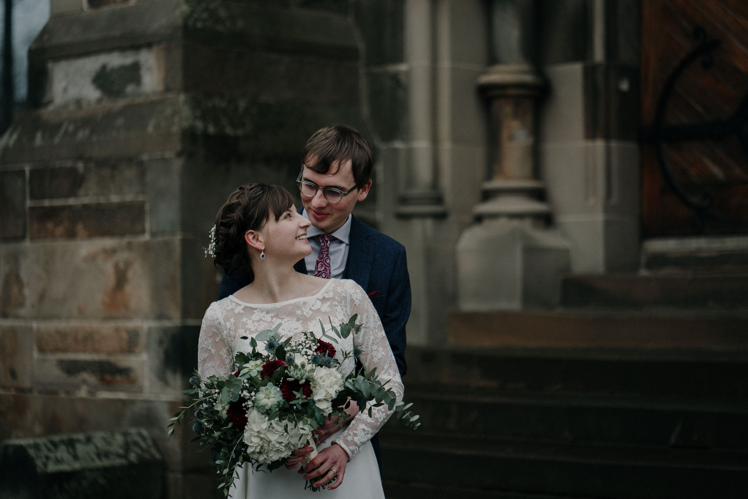 cottiers wedding photo glasgow