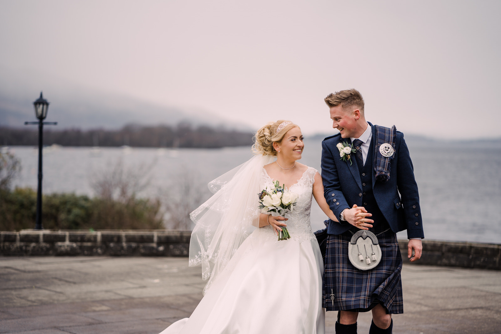 The Cruin - I love a Loch Lomond Wedding, and this exclusive little venue is nestled in some of the most stunning scenery Scotland has to offer. With beautiful wood interior, and panoramic views across the loch, it is one of my favourites! Take a peek at some photos from Jade & Graham's beautiful wedding here.