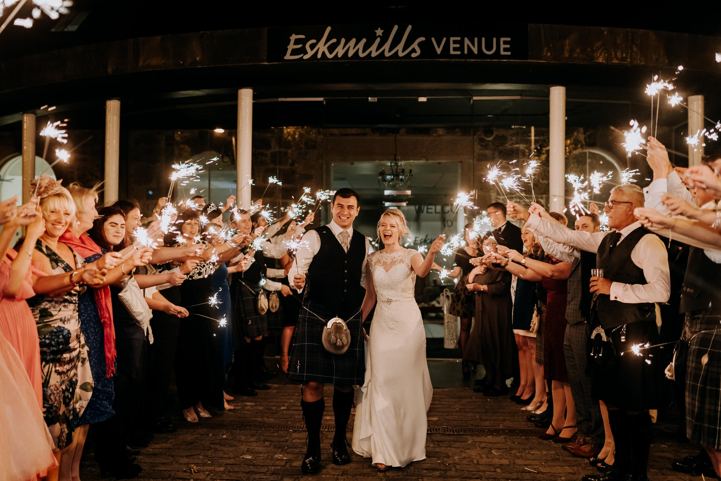 Eskmills Venue - Located just outside Edinburgh, this versatile venue is an impressive space which can hold both indoor and outdoor weddings. With award-winning food and very friendly staff, this is another must see! Check out some photos from Naomi and Daniel's fabulous wedding day here.