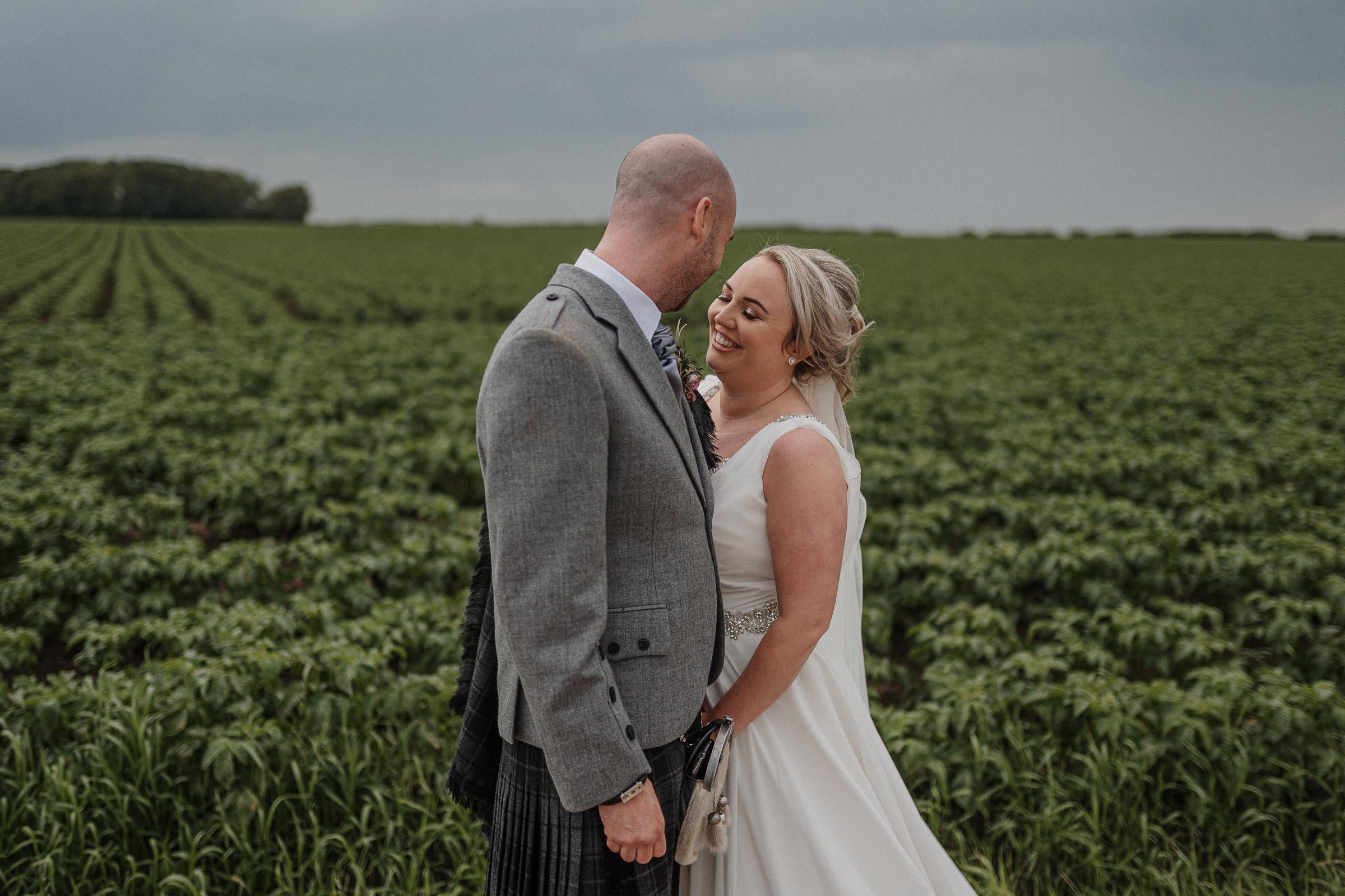farm wedding photographer scotland