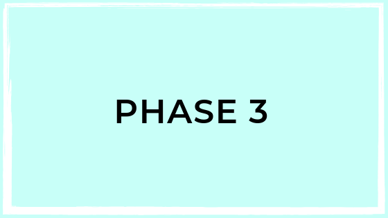 Phase 3 - Practice - You're ready to put it all into practice! In phase 3, you'll create a wellness routine and the extraordinary lifestyle you've dreamed of.