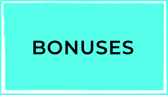 Program Bonuses - Enter here to claim your delicious program bonuses!