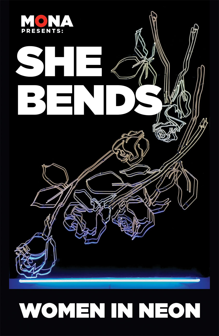 SHE BENDS: Women In Neon. Located at Museum of Neon Art Glendale ,CA
