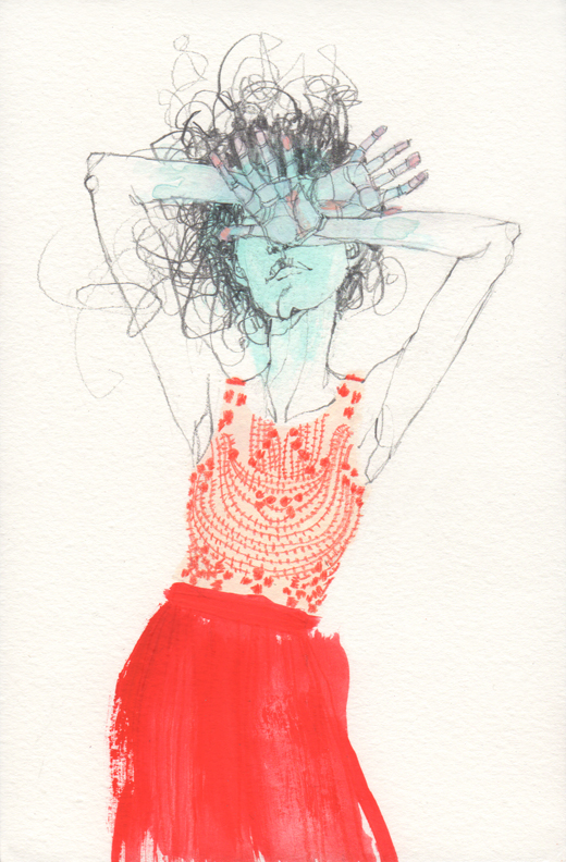 Inspired by a dress from Anthropologie