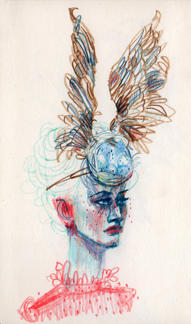 Suggestions of headpieces to wear to the royal wedding  - designed by Philip Treacy & Shaun Leane for Alexander McQueen