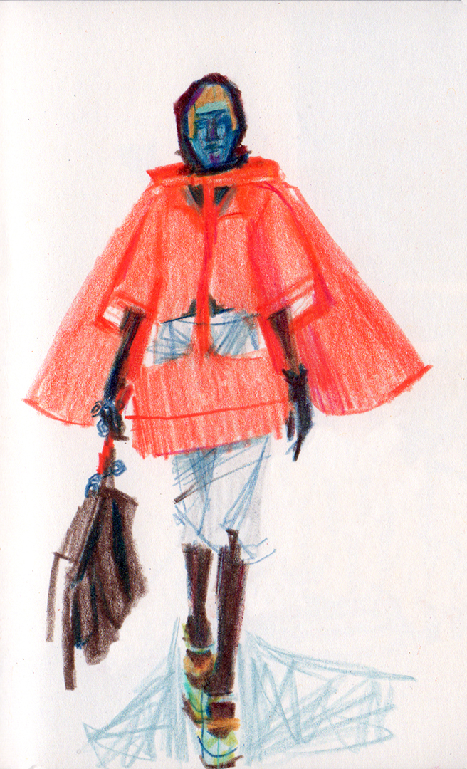 detail: Maison Margielal Fall 2018 Couture