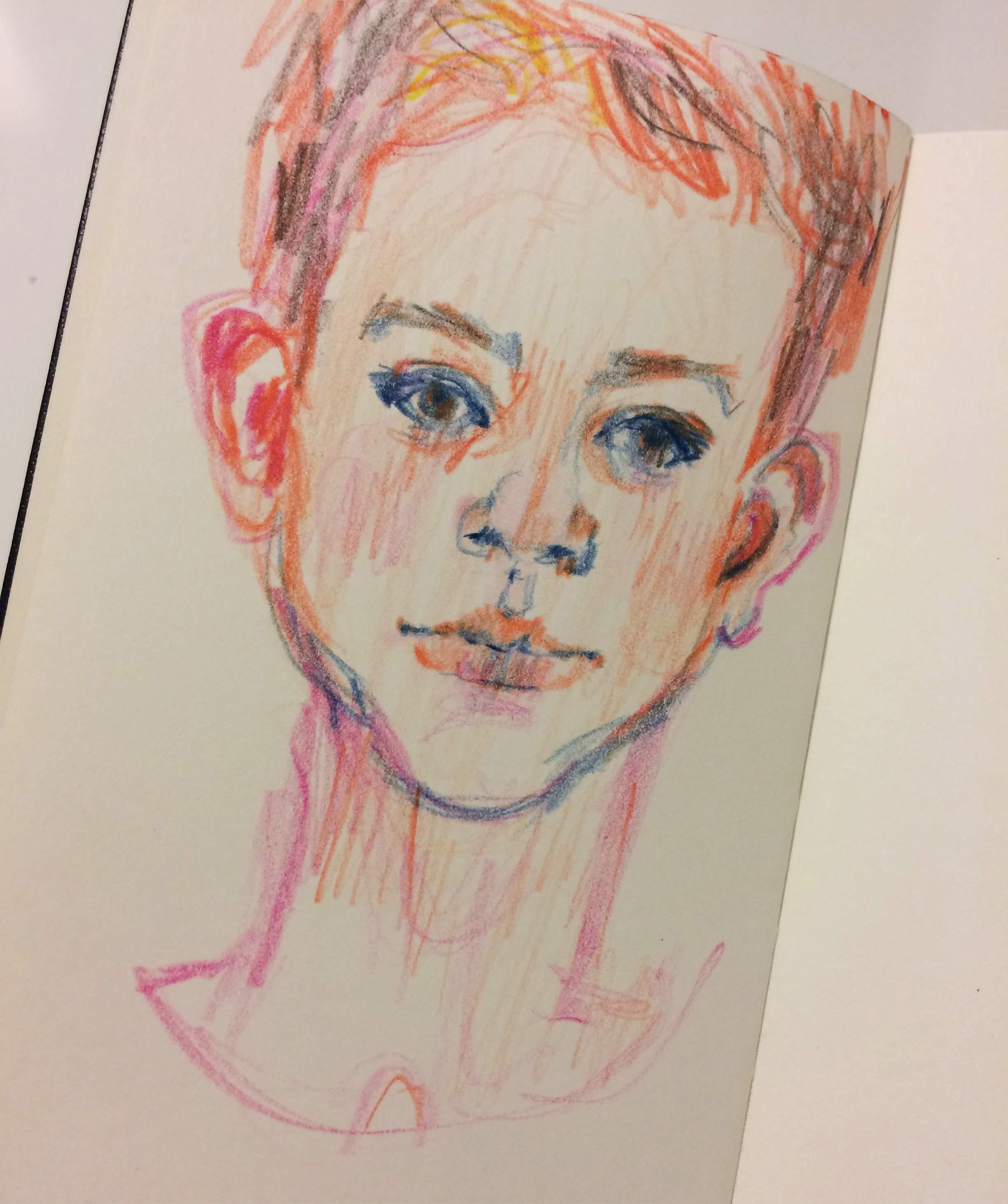 5 minute sketch of Sebastian