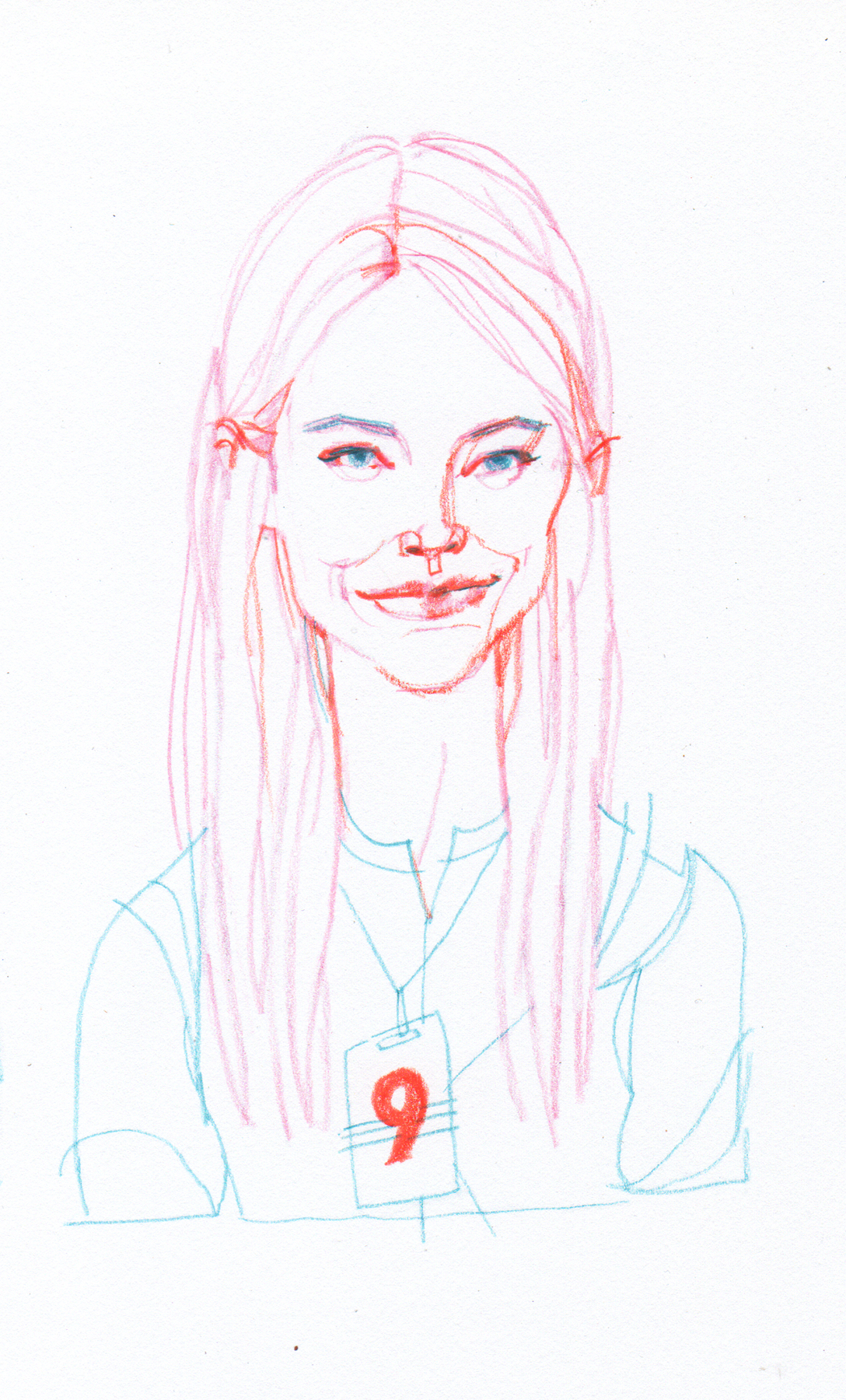 """Emma Stone from """"Maniac"""""""
