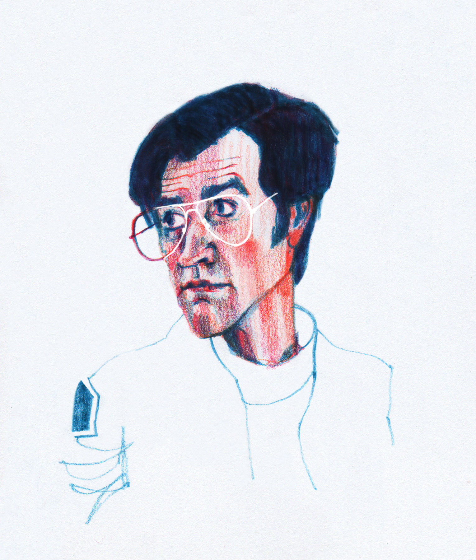 """Dr. Mantleray (Justin Theroux) from """"Maniac"""""""
