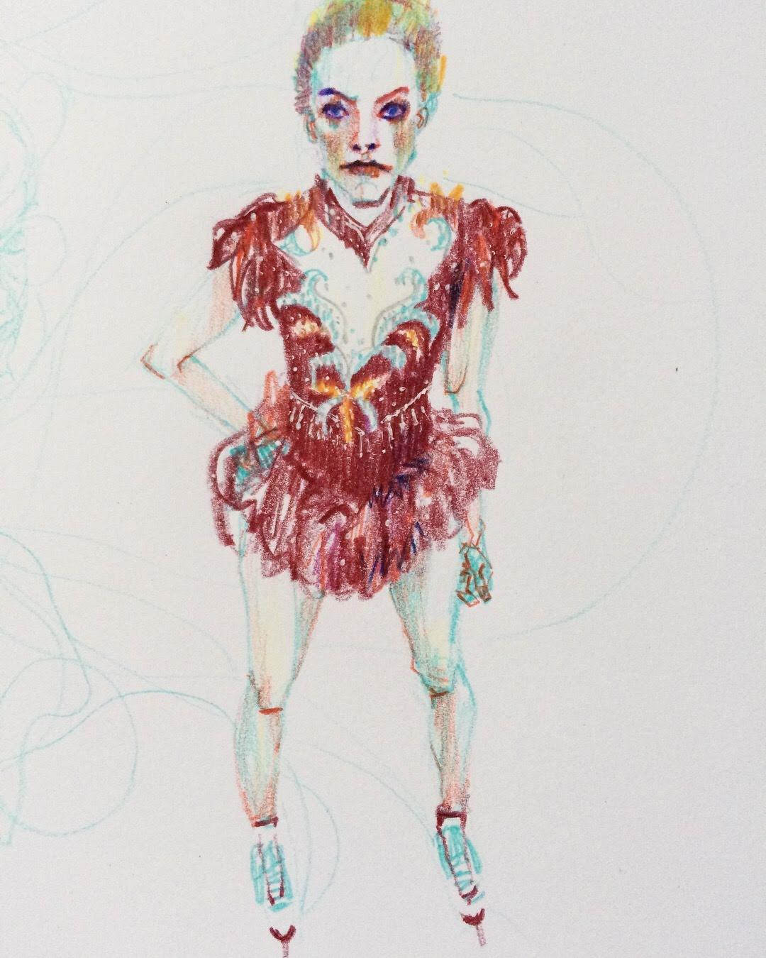 "Margot Robbie from ""I, Tonya"""