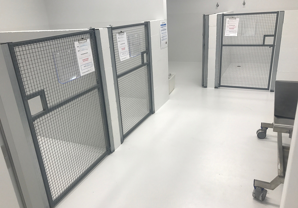 Shown above: Vision Australia Puppy Kennels