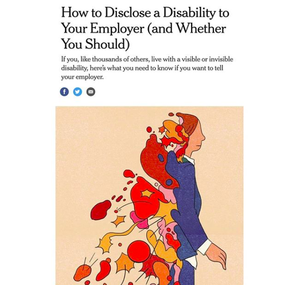"""How to Disclose a Disability to Your Employer"""