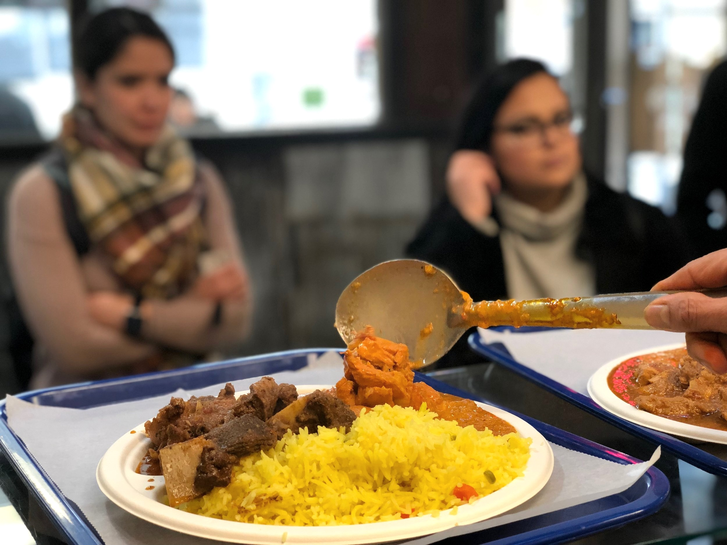 """According to the  Nashville Scene , you can't go wrong with the """"indian goodness"""" of Swaghura's goat curry."""