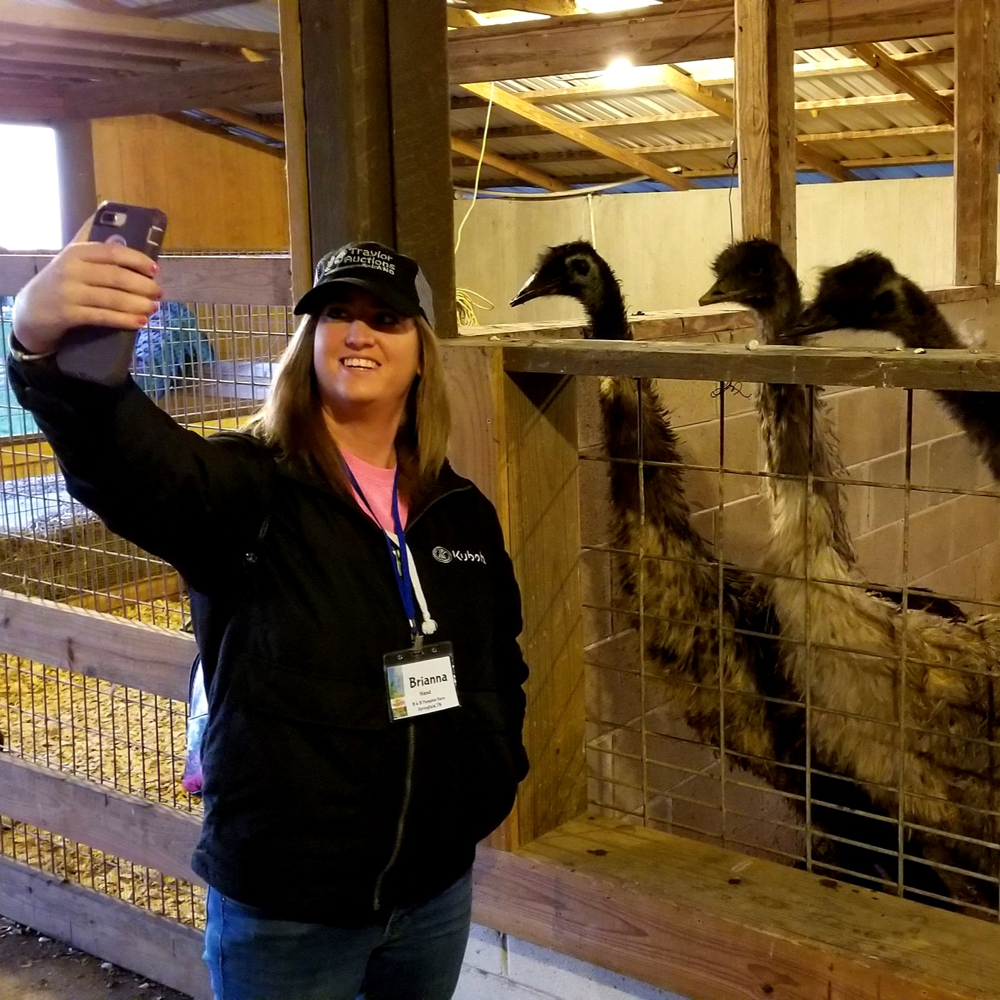 #emuselfie at Rutland Farms in Tifton, Georgia