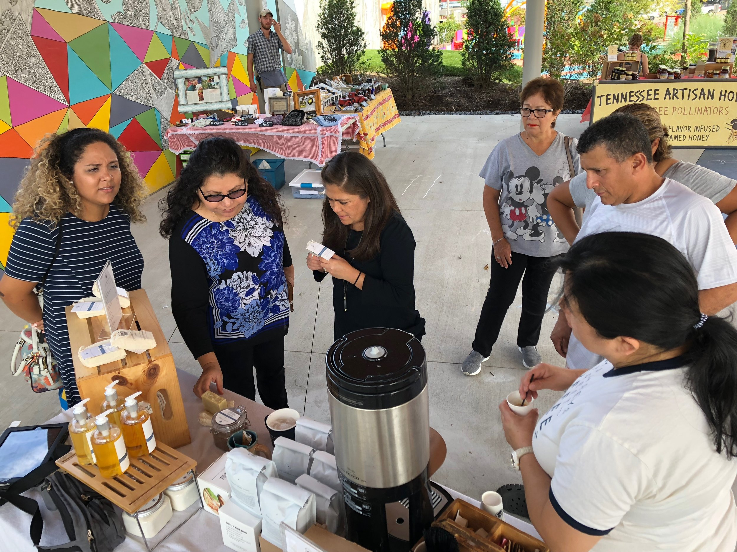 Humphreys Street Coffee at Azafrán Farmers' Market