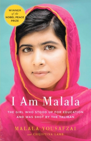 I AM MALALA: HOW ONE GIRL STOOD UP FOR EDUCATION AND CHANGED THE WORLD  We are still in awe over Malala Yousafzai and her outstanding courage in the face of danger. In this autobiography the noble peace price winner lets readers into her world and the oppression her community faces by the Taliban.Her story is powerful and just goes to show that anyone, at any age,has the ability to leave a lasting impact on the world. We know that this book will leave you feeling moved and empowered.