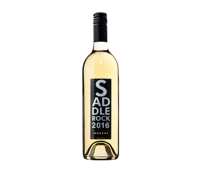 2016 Saddlerock Muscat- California   Sipping this wine is like walking through an orange grove! Aromatic notes of mandarin, orange blossom, and honeysuckle lead into pear, lychee, and peach. Take a bite out of this wine!