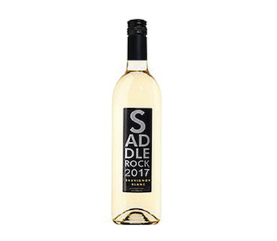 2017 Saddlerock Sauvignon Blanc- Lodi   Light, crisp, and complex, this wine leads with an array of peach, pear, and pineapple aromas while flavors of lemon grass, lime, and Lemon Tart salivate your palate. Each sip is better than the last!