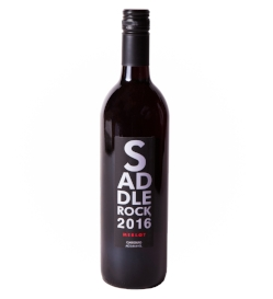 2016 Saddlerock Merlot- Lodi   Dramatic and smooth. Cherry and peppercorn interlude to rich dark-fruit and pomegranate. Nutmeg and cinnamon spice up the finish with an ovation of flavors.