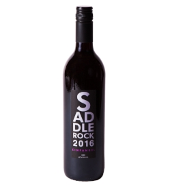 2016 Saddlerock Zinfandel - Lodi   This deep purple Zinfandel fills your senses with plum jam, brown sugar, and sweet tobacco leaf. It has a rustic finish of black cherry, ripe blackberry, and baking spice.
