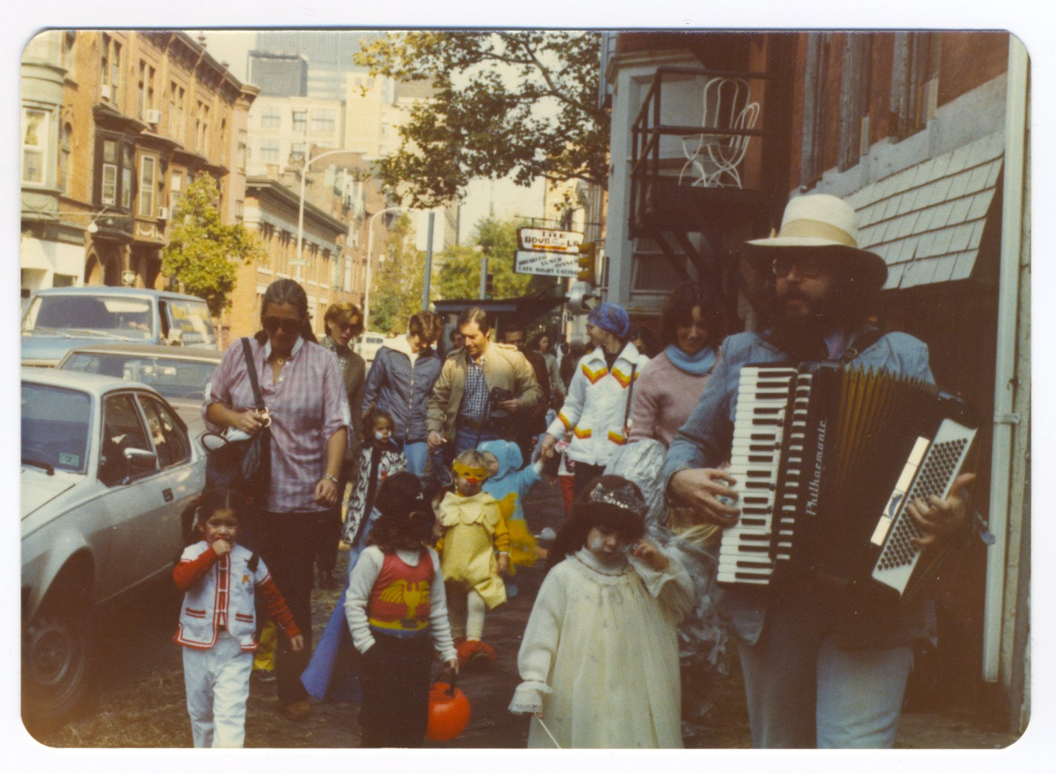 Halloween at TPG.  We've been parading for decades!