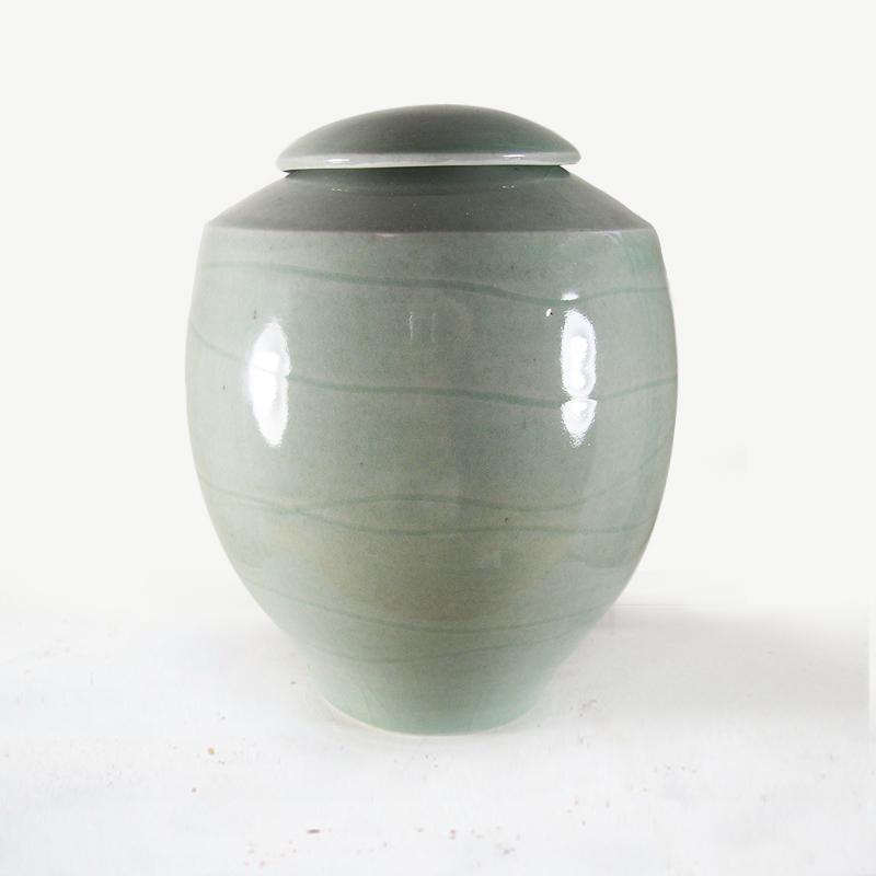 Celadon Urn  28cmH  $180