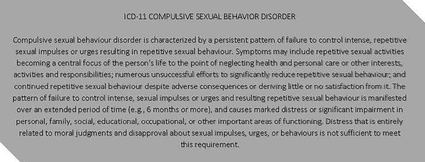 ICD-11 Compulsive Sexual Behavior Disorder.jpg