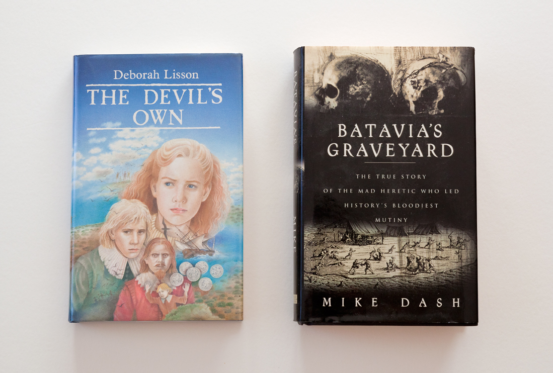 I read this book at probably 12 or 13 and the fascination with the Batavia has stayed with me ever since. Luckily, what's left of the Batavia lives at the WA Shipwrecks Museum in Fremantle, so I got to visit it once on a trip to Perth.