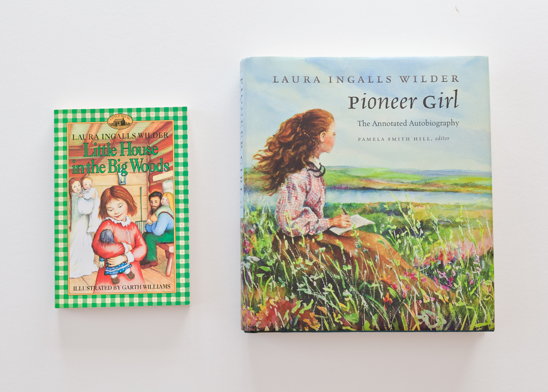 "Likewise for Laura Ingalls Wilder's ""Little House"" books. Read many times during my childhood and into my adulthood, I'm still so interested that I jumped at the opportunity to order the South Dakota Historical Society Press'  Pioneer Girl  that features the original text alongside extensive notes comparing the fictional account with historical fact."