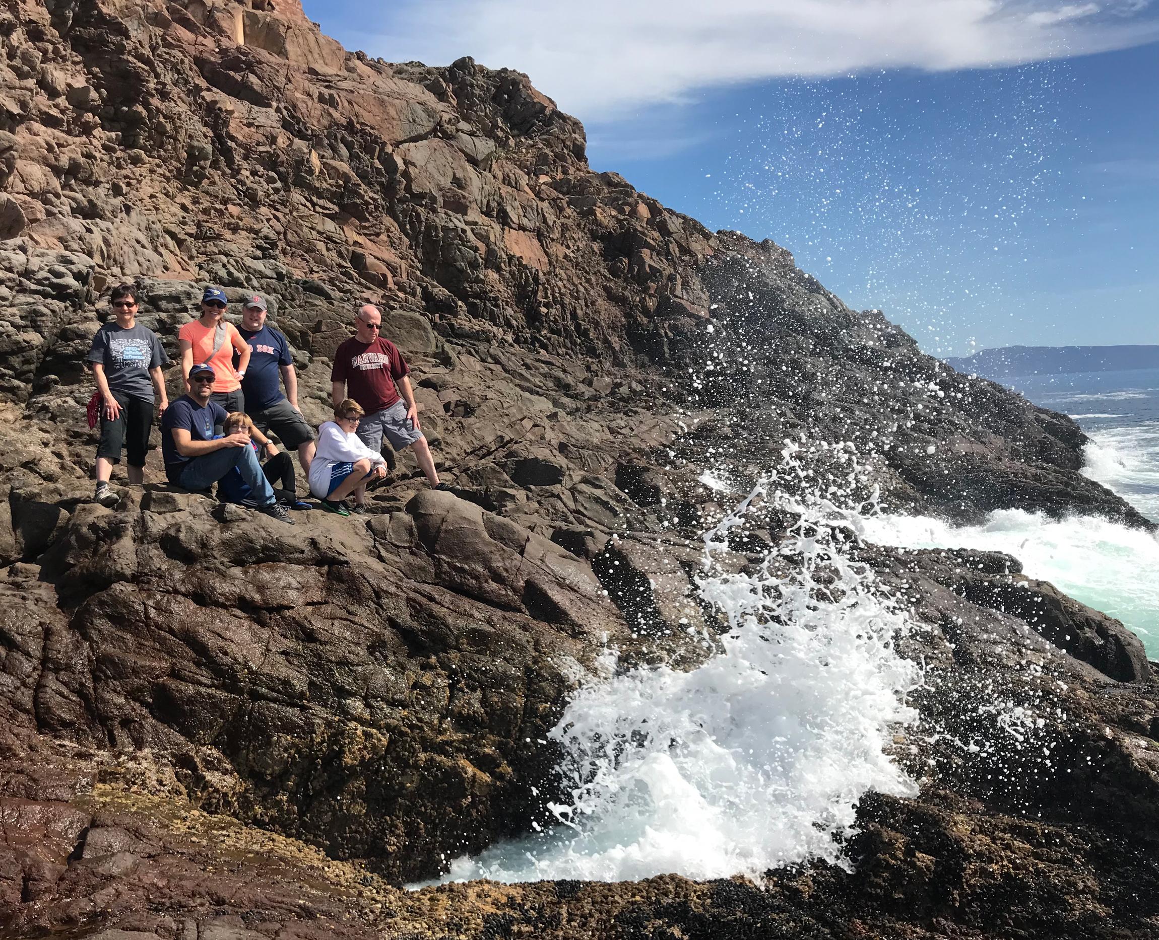 our own backyard marine geyser!