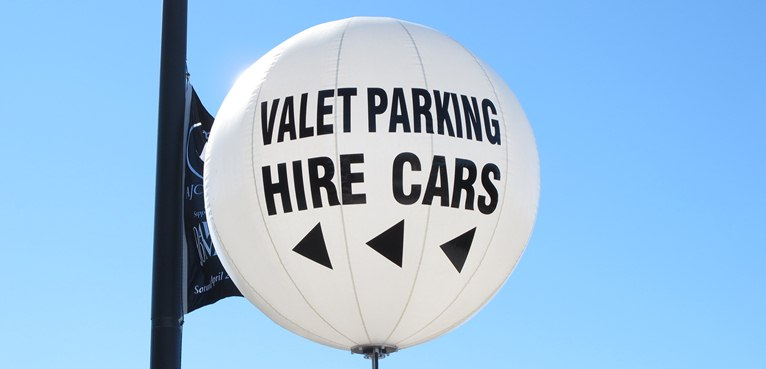 Directional signage Hire Cars