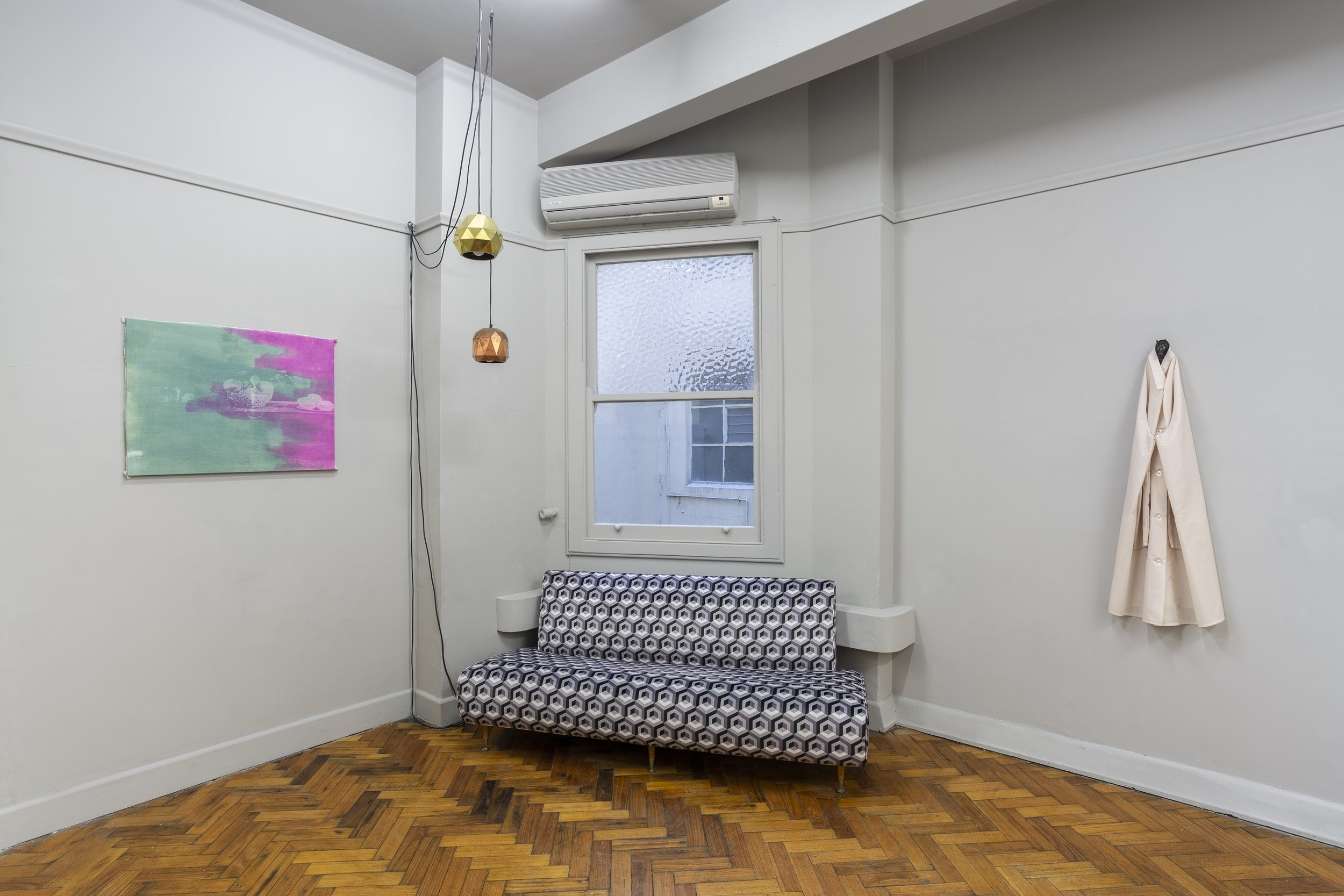 Jeremy Eaton, The Enigma Code, 2018. Installation view