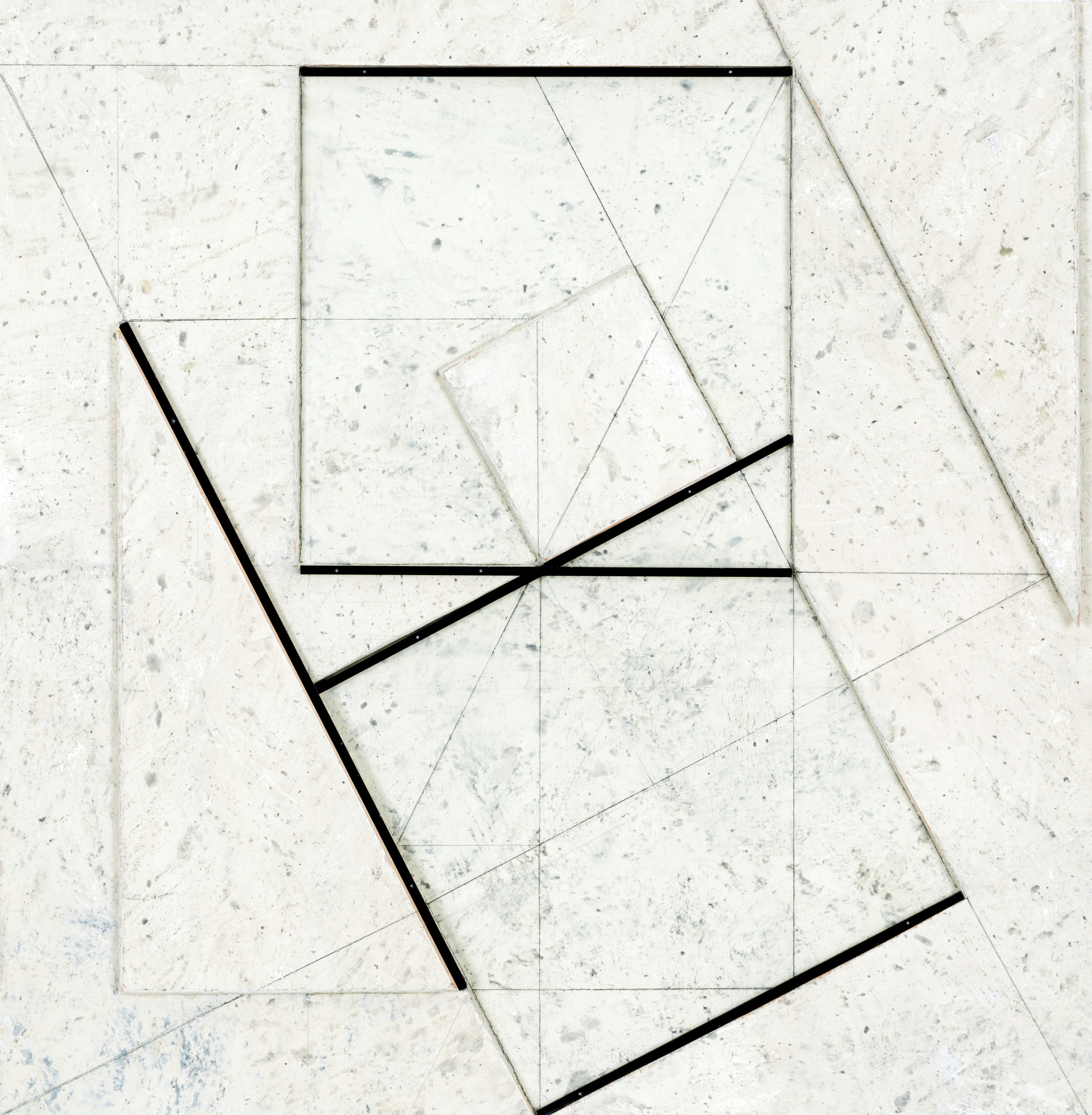 Stanislav Kolíbal_Grey relief, 2016, assemblage, boards, metal, pencil drawing, 63 x 61 cm_high-res.jpg