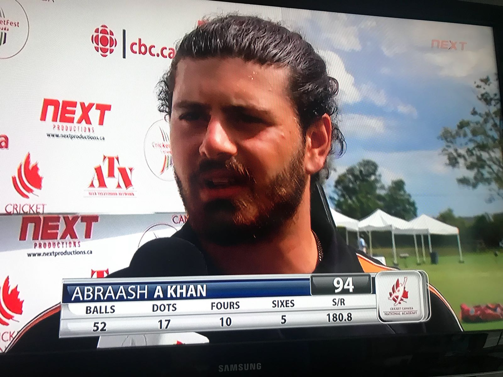 At age 20, Abraash has played in two U19 World Cups (one as captain). He recently played in the Global T20 pro franchise cricket and was the leading batsman in the Canada SummerFest.