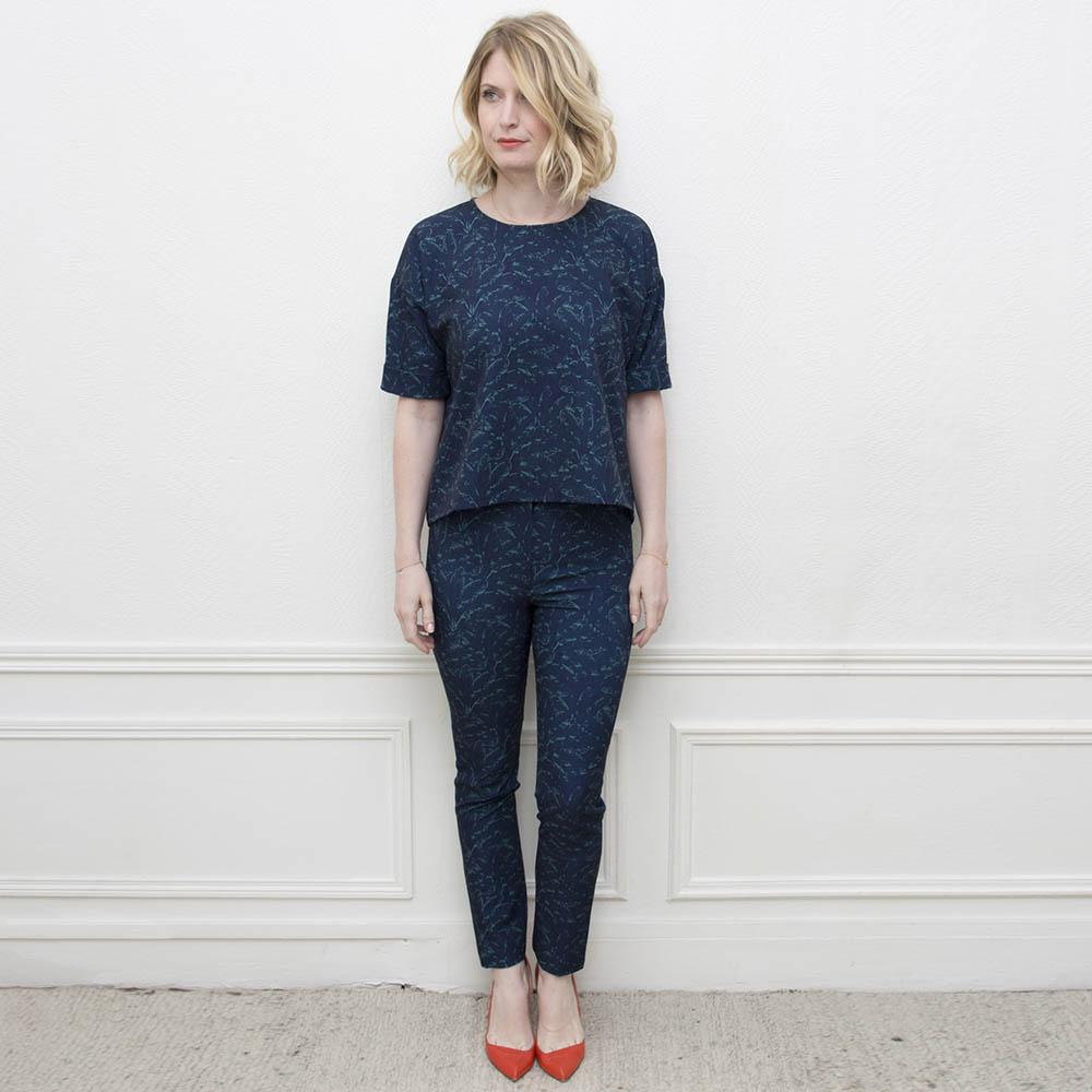 Jane & Serge - Votre Ensemble à 129€ au lieu de 160€Pour l'achat d'un Top + un Pantalon(remise effectuée lors de la confirmation de votre commande).Ensemble c'est mieux à deux !