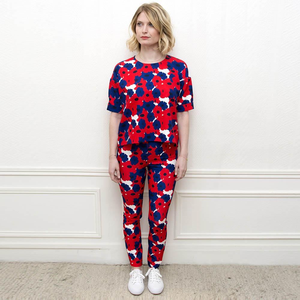 Edith & Marcel - Votre Ensemble à 129€ au lieu de 160€Pour l'achat d'un Top + un Pantalon(remise effectuée lors de la confirmation de votre commande).Ensemble c'est mieux à deux !