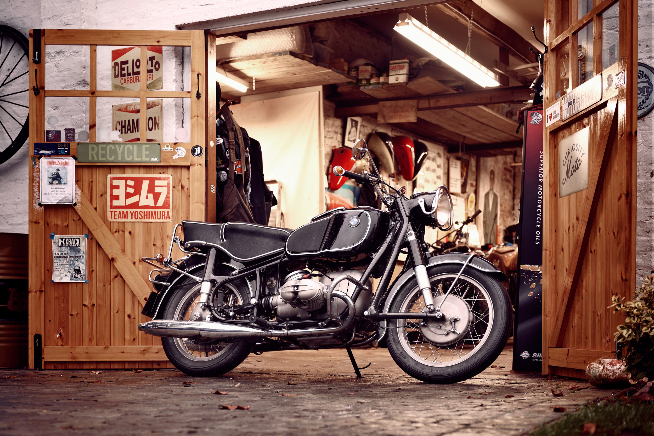 Full service and MOT for you BMW, Harley Davidson or early British and Japanese motorcycles.