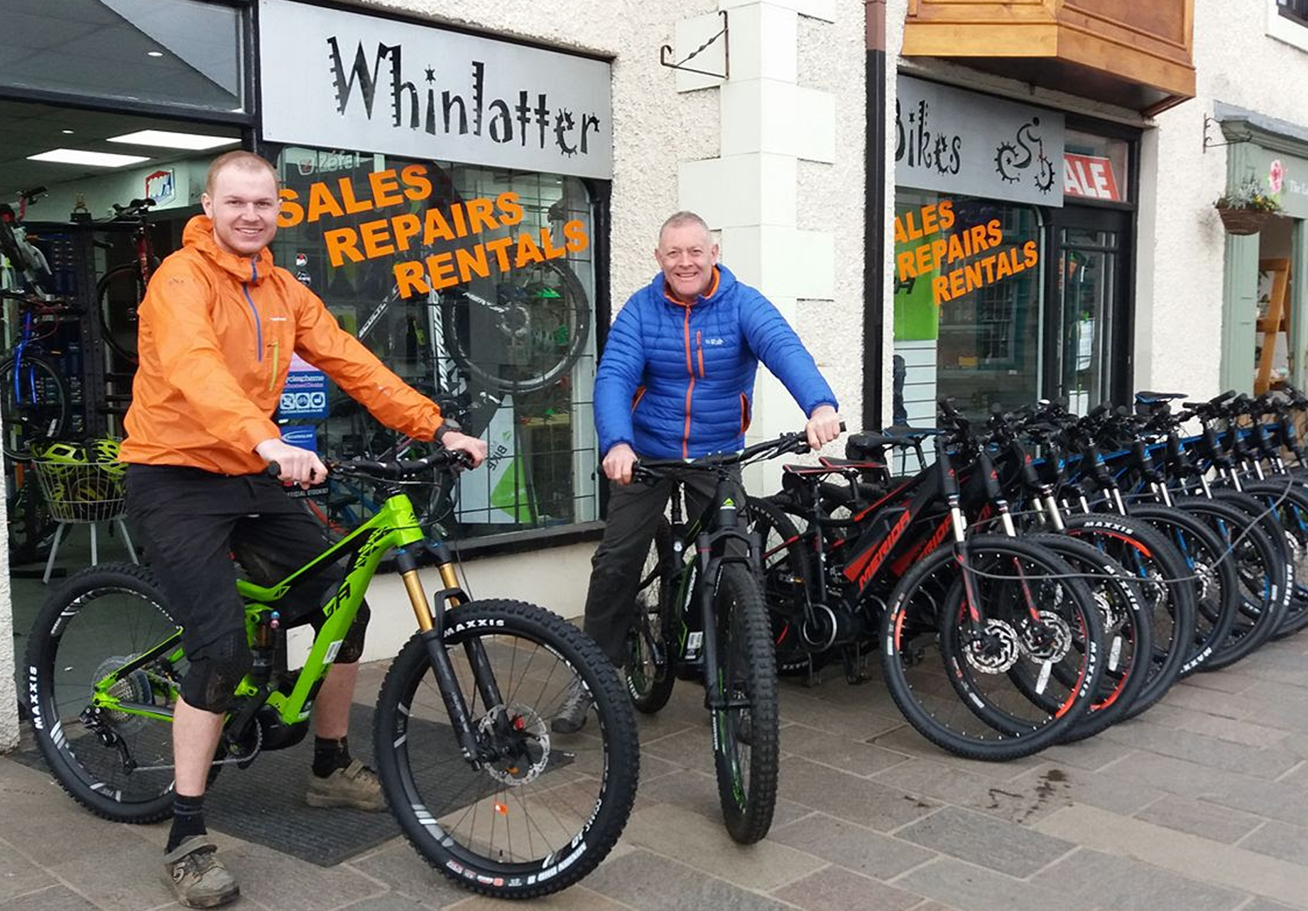 Whinlatter Bikes   We have a fine selection of bikes to suit all ages and abilities. The shop also features a full line of technical and street clothing. We carry accessories from all the major suppliers. From fashion to function we truly are a one-stop shop. Our staff have extensive knowledge and many years of international experience. We also ride the same local roads and trails you ride. The shop has a full service and repair facility with in-store Cytec certified mechanics. We do complete bike builds and custom wheel builds. Whinlatter Bikes are leading the way with tubeless tyre technology.  82 Main Street, Keswick, CA12 5DX  017687 73940