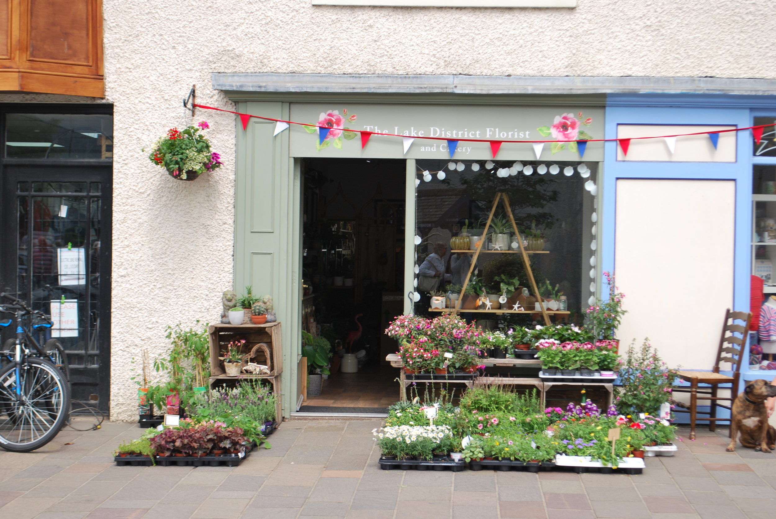 The Lake District Florist and Cakery    We provide bespoke wedding and event flowers, tasteful funeral flowers and beautifully hand-tied gift bouquets in the Lake District. Maker of delicious wedding and celebration cakes decorated to your requirements. Special dietary requirements catered for.  80 Main Street, Keswick, CA12 5DX  017687 73003
