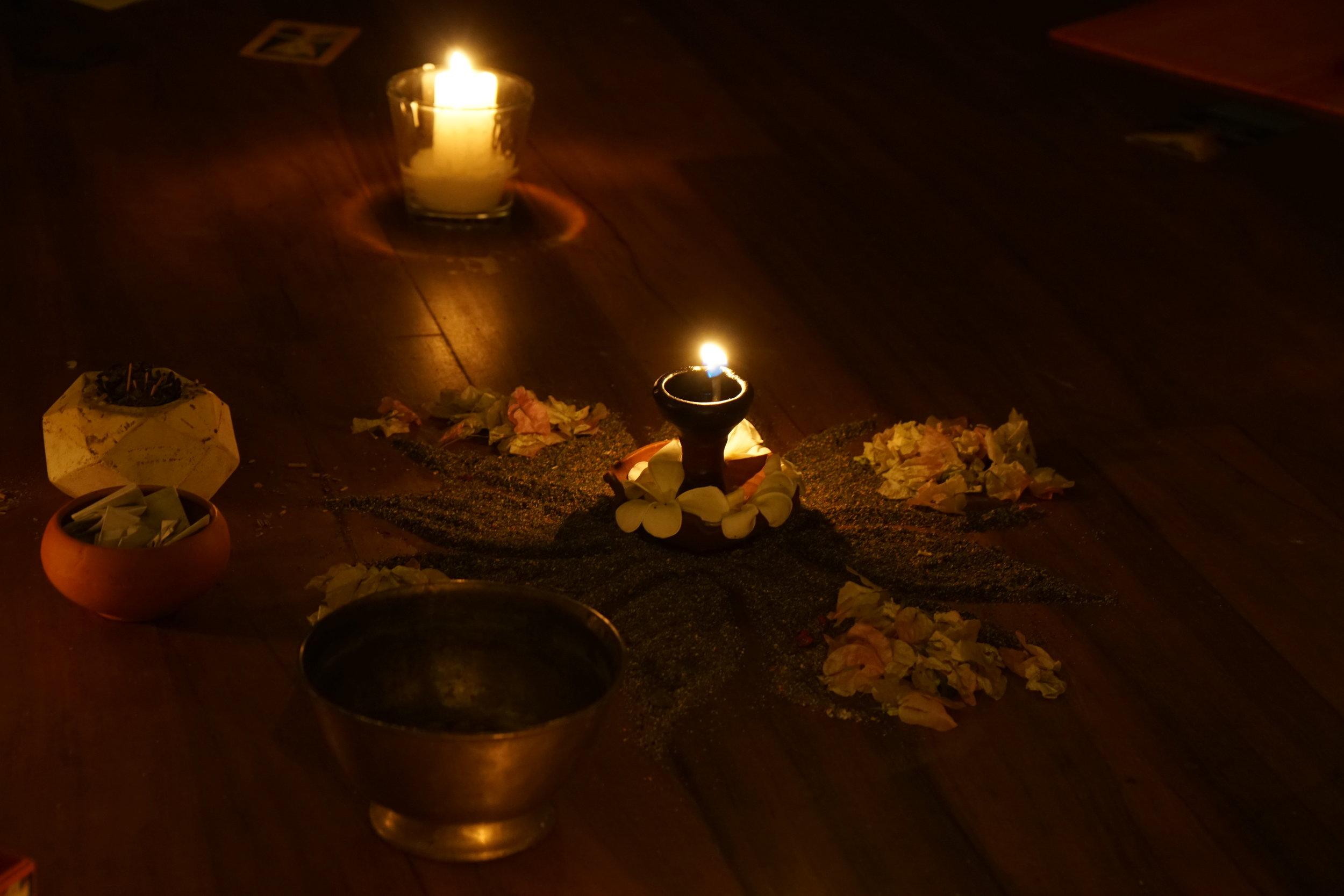 yin yoga restorative meditation chanting getaway kandy sri lanka