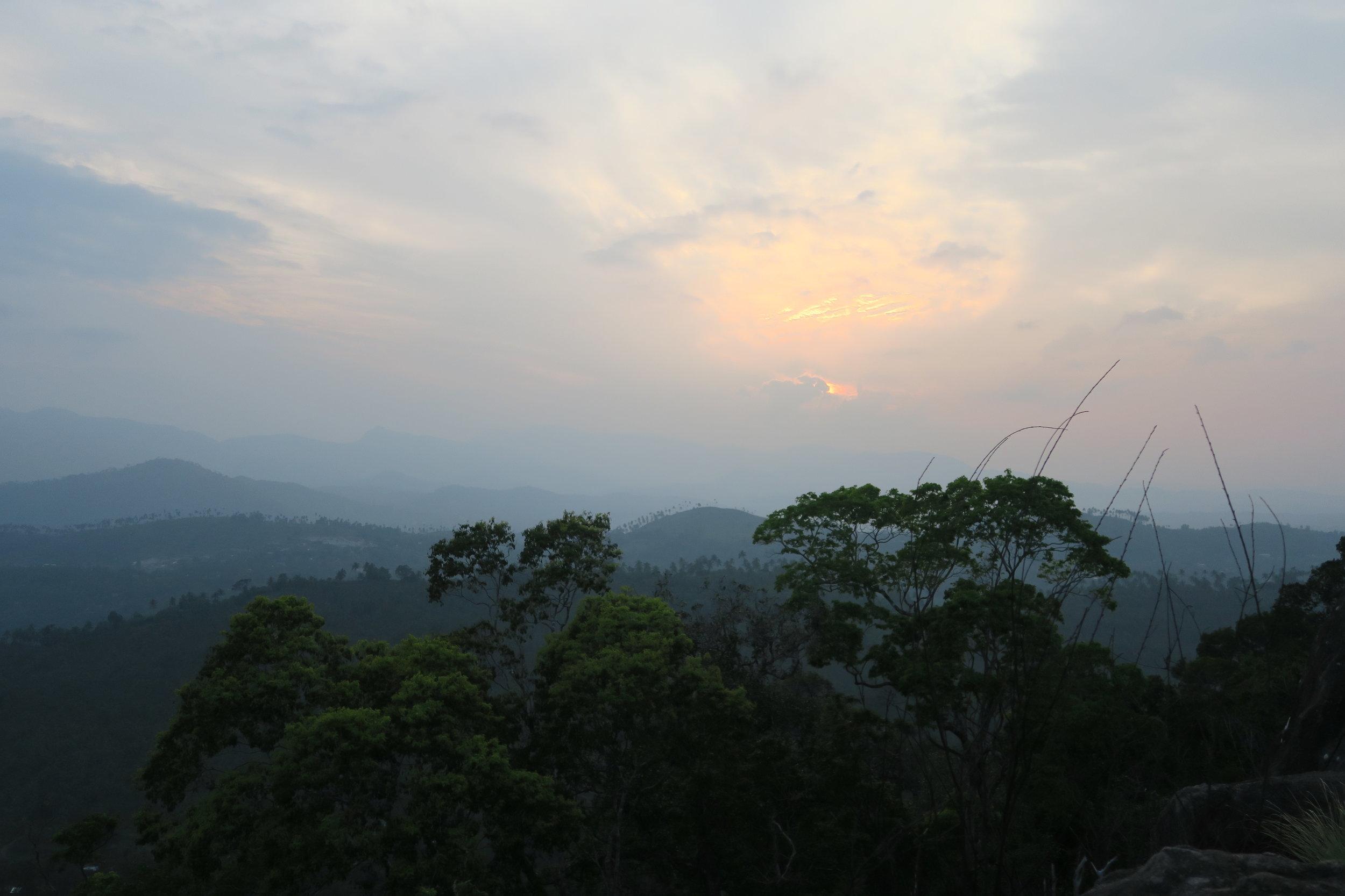 Bambaragala Rock, near Digana