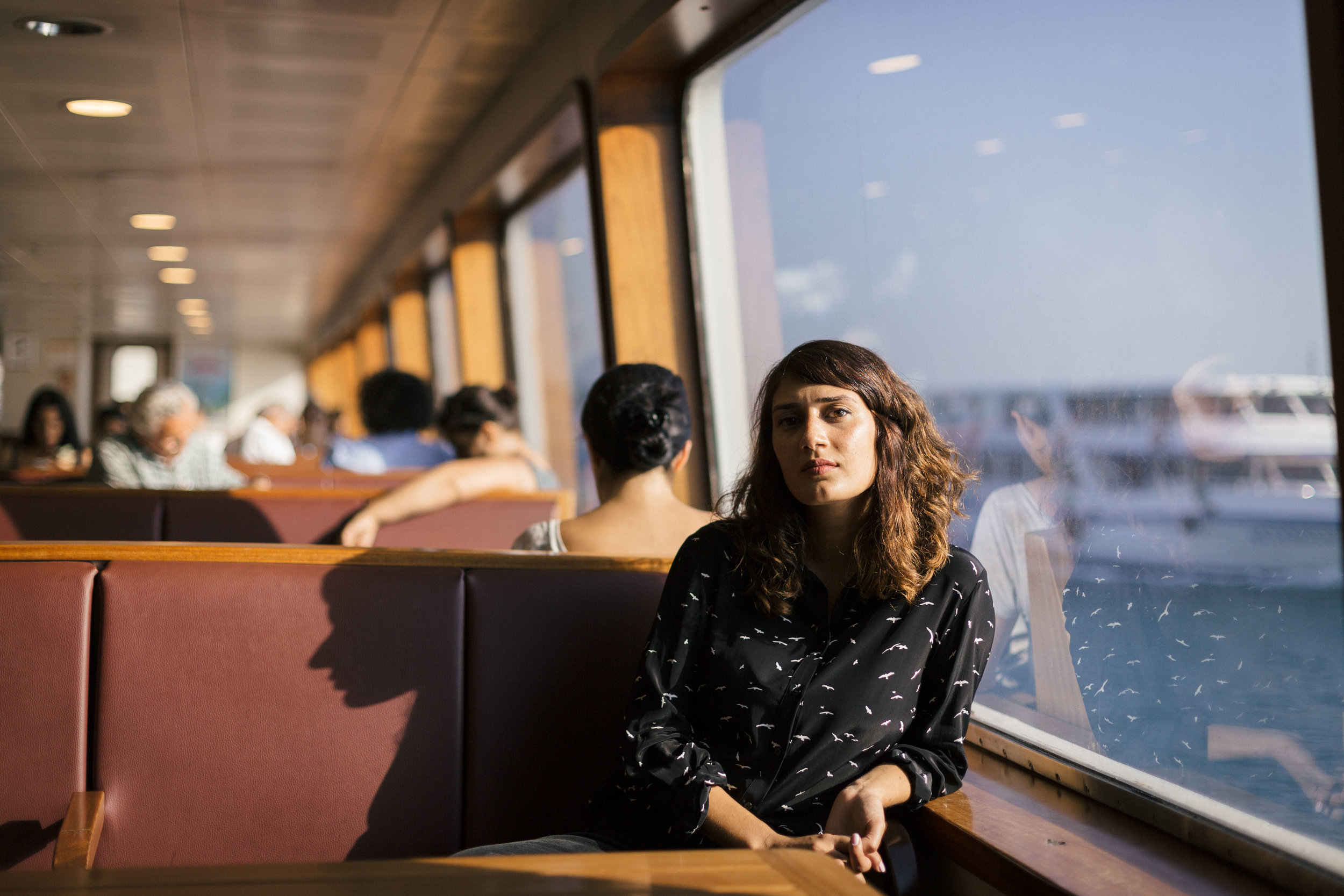 German-Turkish journalist and writer Fatma Aydemir is a rising star in her country's literary scene. (Photo courtesy of Bradley Secker)