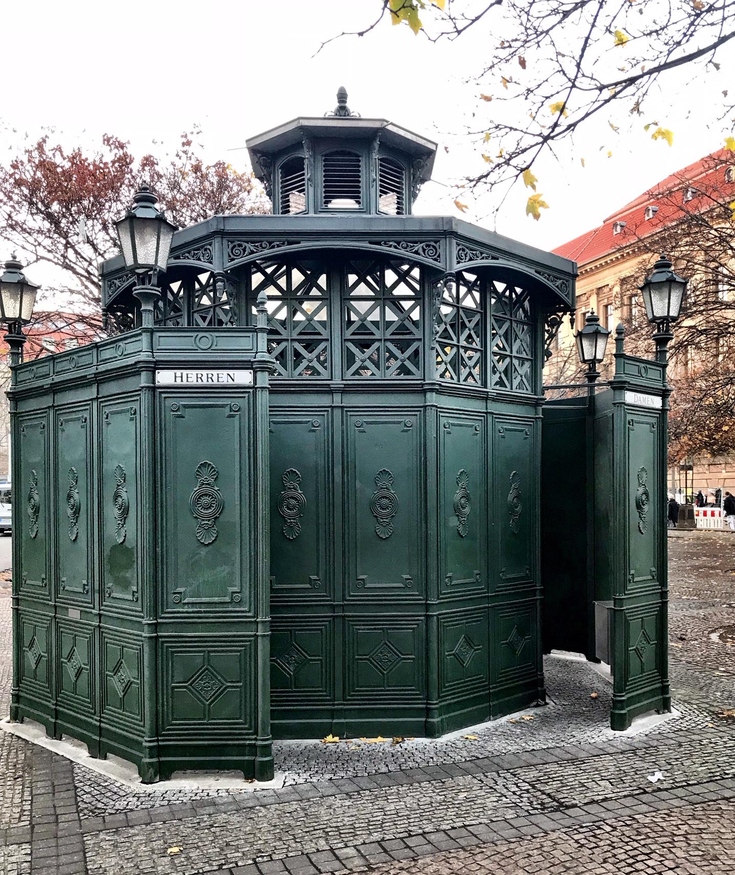 Berlin's oldest public toilet.